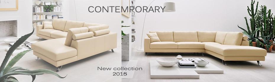 New collection, contemporary sofa