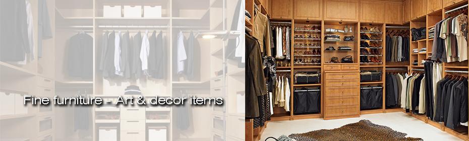 Vosnakis fine furniture - wardrobes - closet room