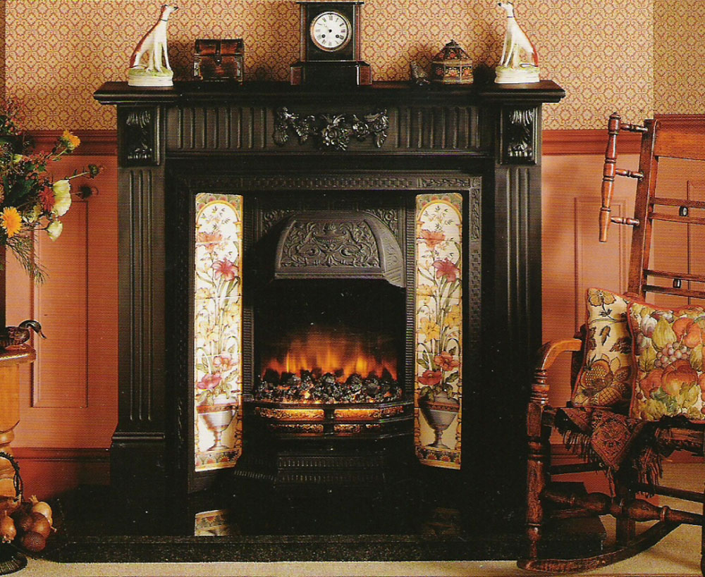 marble fireplace mantelpiece conway